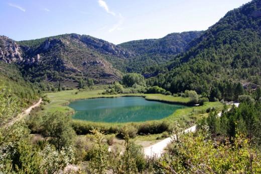 Laguna de Taravilla.
