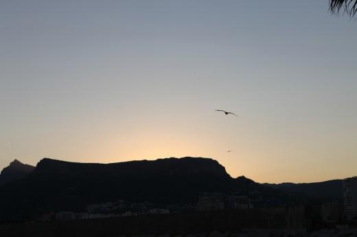 Puesta de Sol (foto original sin retocar)