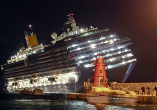 El accidente del crucero 'Costa Concordia'