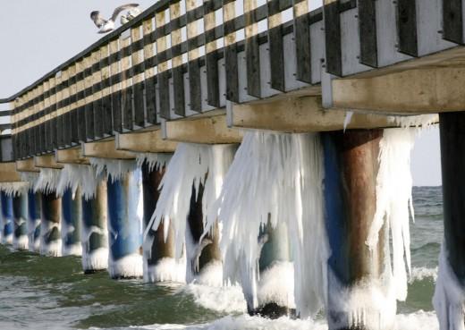 Impresionantes imágenes de la ola de frío que asola Europa