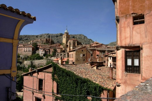 Albarracín, paisaje urbano.