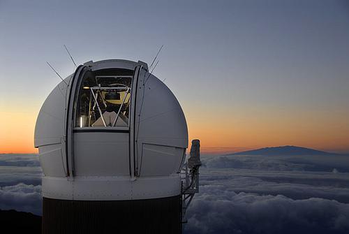 Telescopio astronómico de Hawai (foto de space.com)