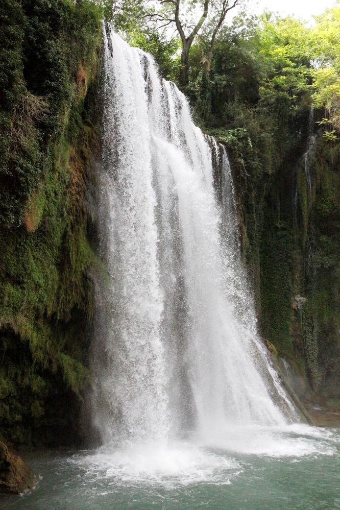 Cascada La Caprichosa del Monasterio de Piedra.
