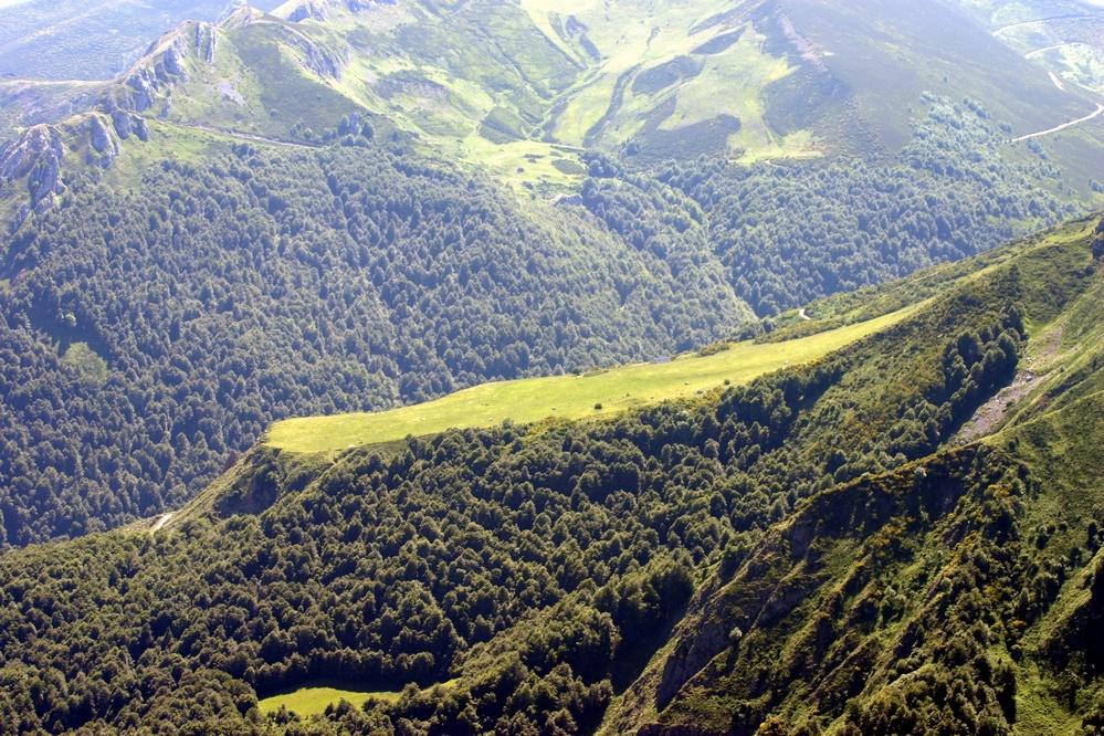 Foto tomada desde el mirador de Fuente Dé (En Picos de Europa)