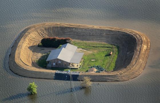 Inundación del río Mississippy