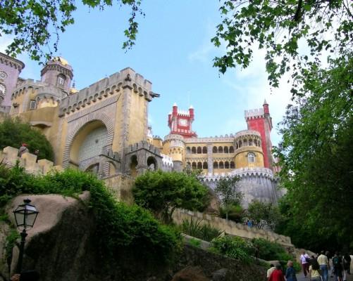 El Palacio de la Pluma en Sintra (Portugal)