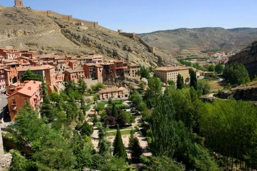 Albarracín, un precioso pueblo serrano.