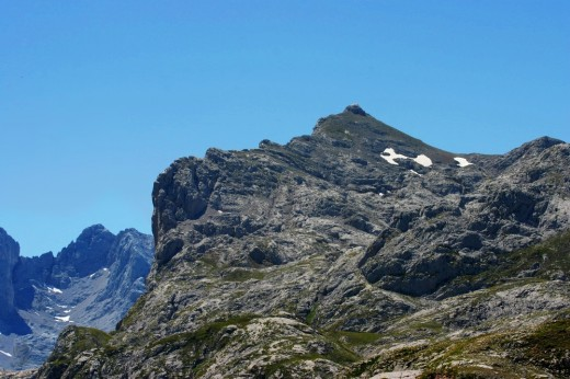 Paseando por las cumbres de Picos de Europa.
