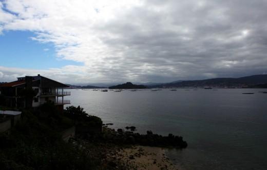 Ría de Pontevedra vista desde Raxó.