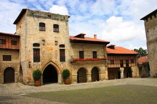 Torre de don Borja en Santillana del Mar.