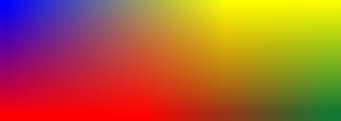 Gradiente tetracolor